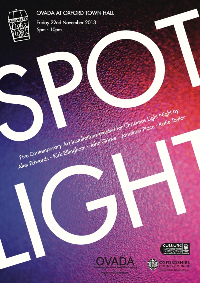 Ovada spotlight poster 2013